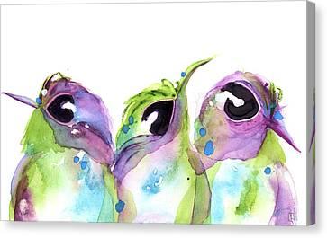 We Three Canvas Print