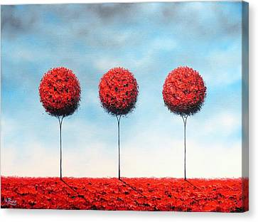 We Who Wander Canvas Print by Rachel Bingaman
