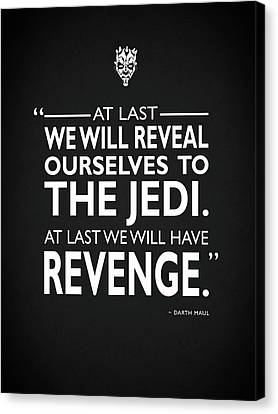 We Will Have Revenge Canvas Print by Mark Rogan