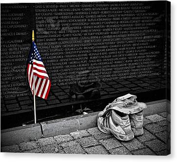 We Will Never Forget Them... Canvas Print by Boyd Alexander