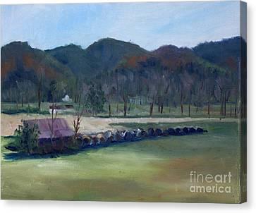 Wears Valley, Tn Canvas Print by Janet Felts