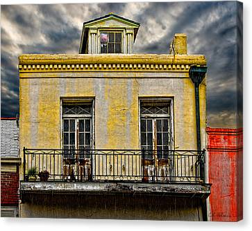 Weathered Canvas Print by Christopher Holmes