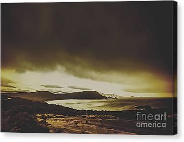 Weathered Coastline Canvas Print