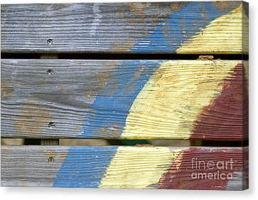 Weathered Canvas Print by Jeannie Burleson
