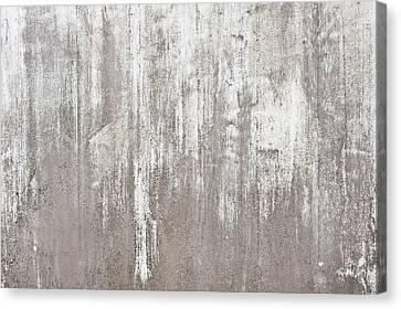 Weathered Metal Canvas Print by Tom Gowanlock