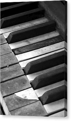 Weathered Music Canvas Print by Adam Vance
