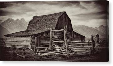 Weathered Peaks Canvas Print by Lana Trussell