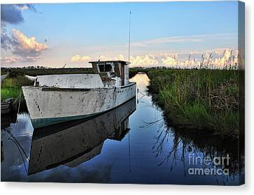 Weathered Reflection Canvas Print