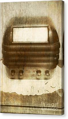 Oldies Canvas Print - Weathered Wireless by Jorgo Photography - Wall Art Gallery