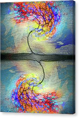 Weathering The Storm Canvas Print by Tara Turner