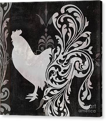 Rooster Canvas Print - Weathervane I by Mindy Sommers