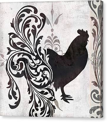 Rooster Canvas Print - Weathervane II by Mindy Sommers