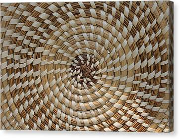 Weaved Canvas Print by Dana  Oliver