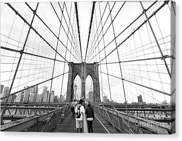 Web Of Love Canvas Print by Andrew Serff