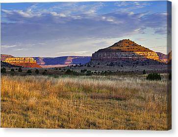 Wedding Cake Ranch Canvas Print