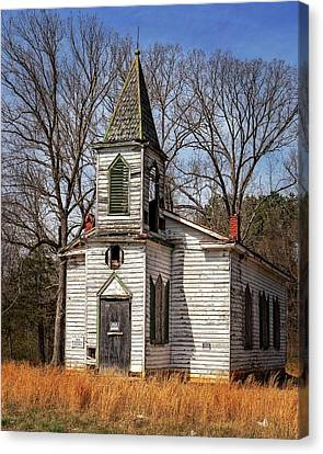 Canvas Print featuring the photograph Wedding Chapel by Alan Raasch
