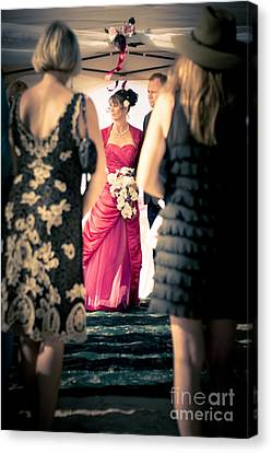 Nuptials Canvas Print - Wedding Couple by Jorgo Photography - Wall Art Gallery