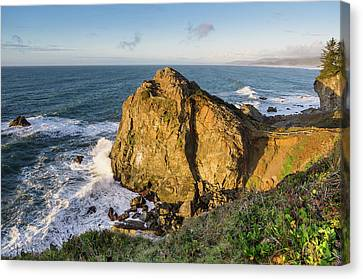 Wedding Rock Evening Light Canvas Print