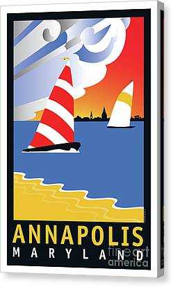 Wednesday Afternoon Canvas Print by Joe Barsin