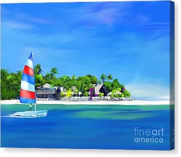 Weekend Getaway  Canvas Print