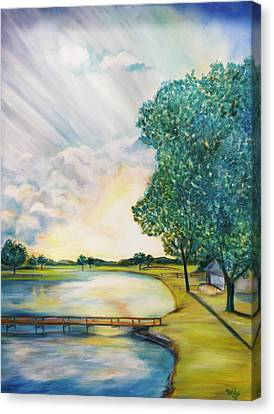 Weekend Getaway Canvas Print by Debi Starr