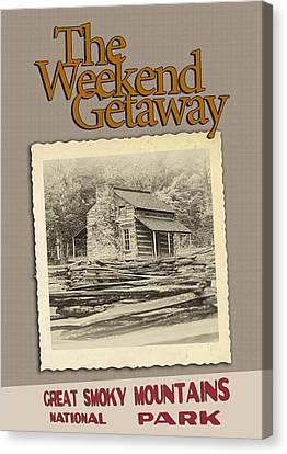 Weekend Getaway Canvas Print by John Haldane