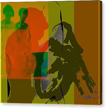 Weep Canvas Print by Noredin Morgan