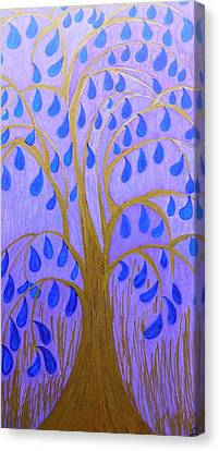 Weeping Tree Canvas Print