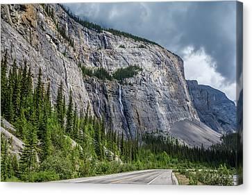 Weeping Wall Banff National Park Canvas Print