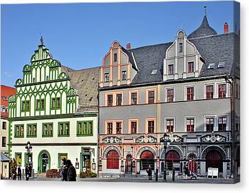 Weimar Germany - A Town Of Timeless Appeal Canvas Print by Christine Till