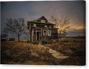 Welcome Home Canvas Print by Aaron J Groen