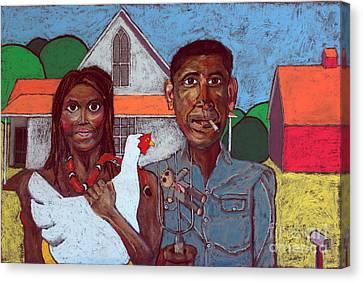 Welcome Home America Canvas Print