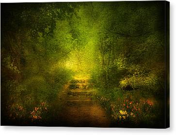 Welcome Path Canvas Print by Svetlana Sewell