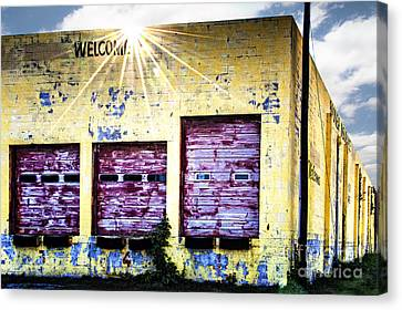 Welcome Canvas Print by Tamyra Ayles