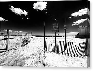 Canvas Print - Welcome To Asbury Park Beach 2007 by John Rizzuto