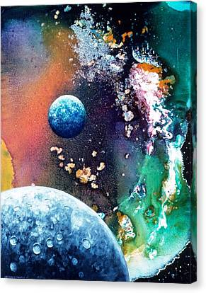 Welcome To Cydonia Canvas Print by Lee Pantas
