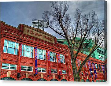 Welcome To Fenway Park Canvas Print by Randy Dyer