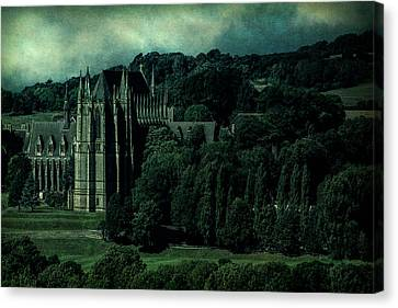 Canvas Print featuring the photograph Welcome To Wizardry School by Chris Lord