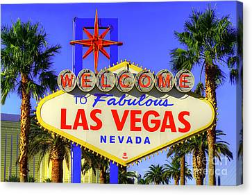 Welcome To Las Vegas Canvas Print