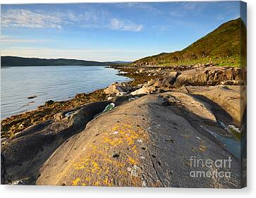 Welcome To Mull Canvas Print by Nichola Denny