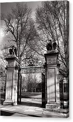 Welcome To Princeton University Canvas Print by Olivier Le Queinec
