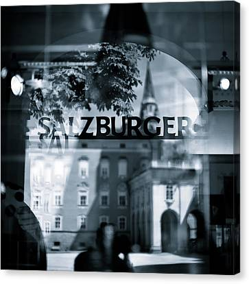 Welcome To Salzburg Canvas Print
