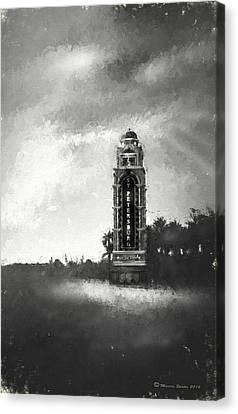 Welcome To St. Petersburg Canvas Print by Marvin Spates