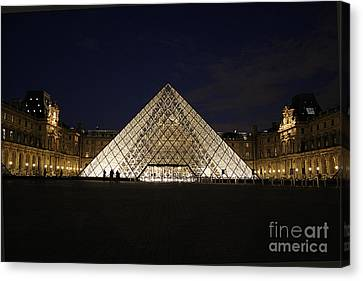 Lourve Canvas Print - Welcome To The Louvre by Joshua Francia