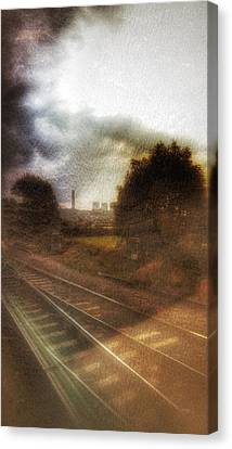Canvas Print featuring the photograph Welcome To The North by Isabella F Abbie Shores FRSA