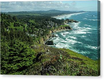 Welcome To The Oregon Coast Canvas Print