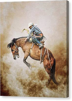 Welcome To The Wild Wild West Canvas Print