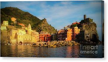 Welcome To Vernazza Canvas Print