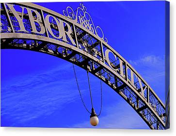 Welcome To Ybor City Canvas Print