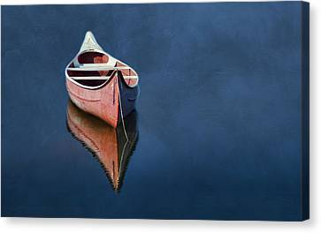 Well Anchored Canvas Print by Robin-Lee Vieira